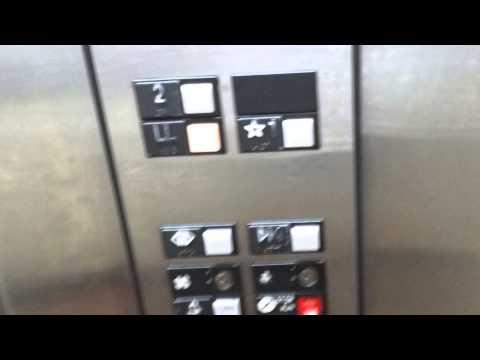 Otis Hydraulic Elevator At Amf Bowlmor Lanes White Plains New York