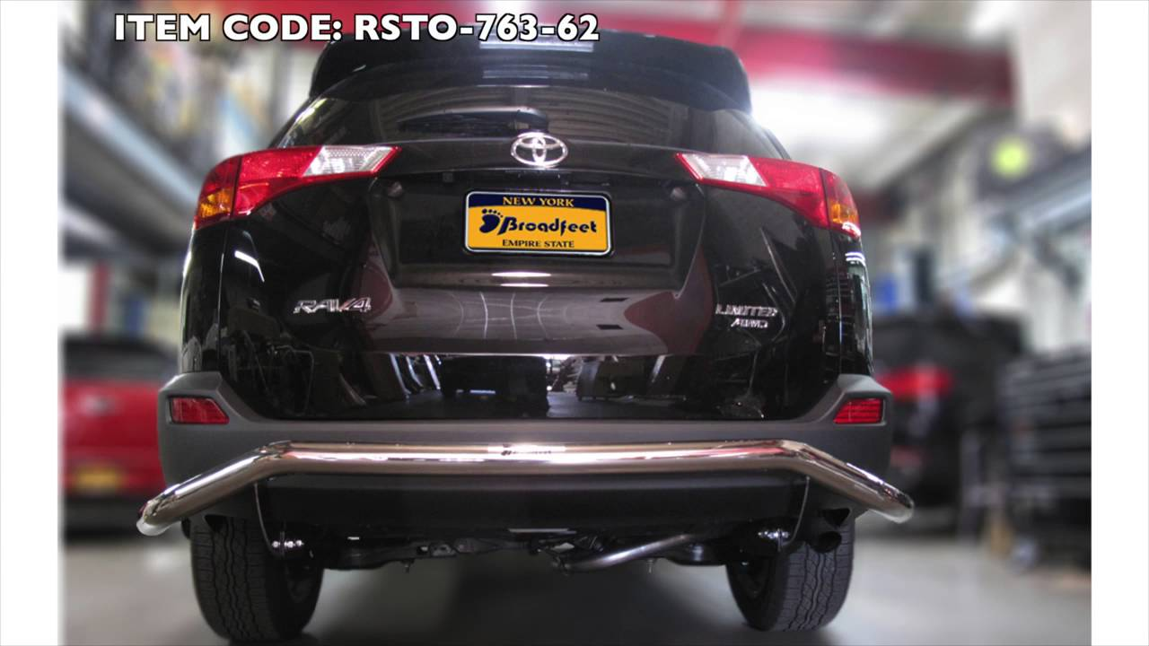 Broadfeet Toyota Rav Rear Bumper Guard