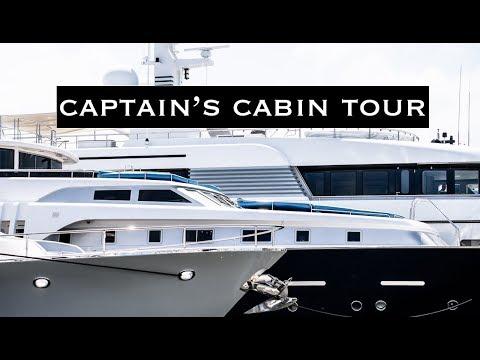 Superyacht Captain's Cabin | Quick Tour