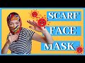 How YOU can make FACE  mask COVER from scarf.3 BEST face MASK cover from SCARVES for women and  men.