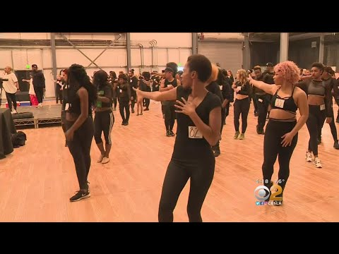 Janet Jackson Holds Open Auditions In Van Nuys