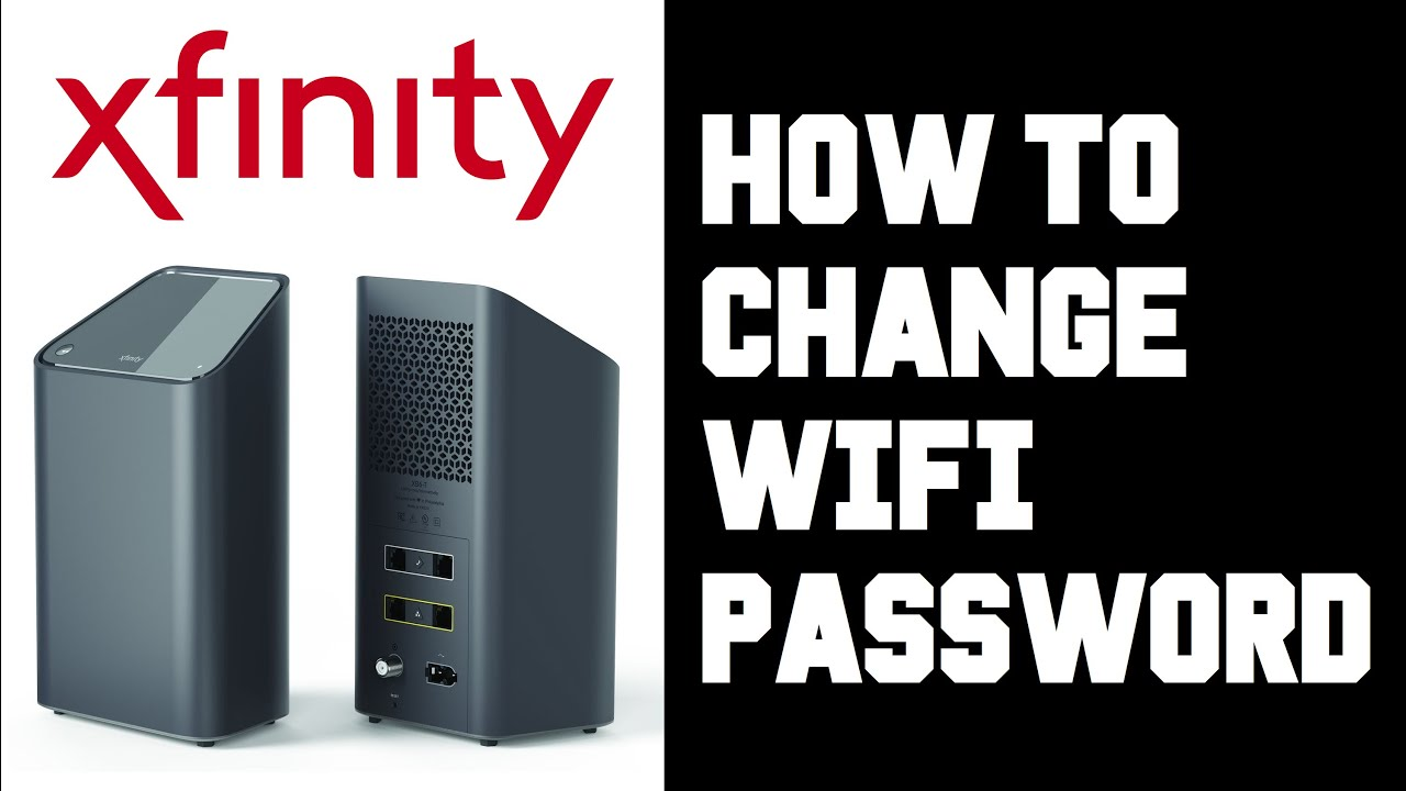 Xfinity How To Change Wifi Password - How To Change Wifi Router Password  Instructions, Guide