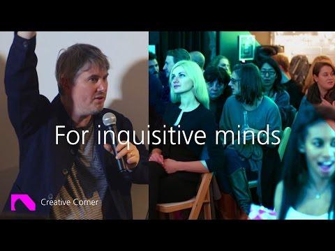 Think Design, Create Emotion | Marcus Lyall | Creative Corner Uncut