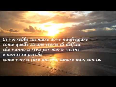 Marco Masini - CI VORREBBE IL MARE + testo