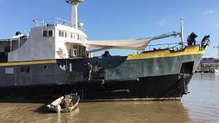 Bordeaux : l'I.Boat en route vers le contrôle technique