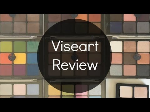 Viseart Palette Review | Swatches of All 8 12 Pan Palettes & 1 Theory