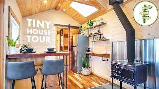 Fine Crafted DREAM TINY HOUSE with Extra Wide Layout & Unique Vintage Fixtures