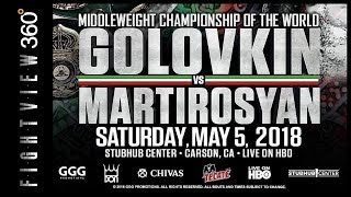 GGG VS MARTIROSYAN PREVIEW! *OFFICIAL* 5/5/18 HBO! WHY NO SAUNDERS? ANDRADE? CANELO GGG 2 FALL 2018?