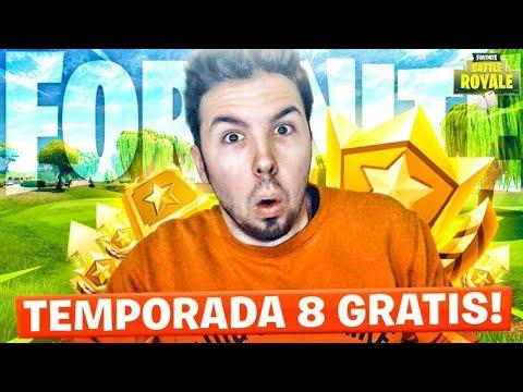 CONSIGO PASE DE BATALLA *TEMPORADA 8* GRATIS | FORTNITE thumbnail