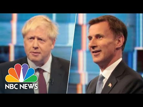 Boris Johnson And Jeremy Hunt Clash During Britain's Prime Minister Debate | NBC News