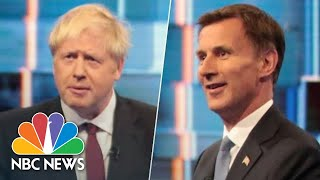 Boris Johnson And Jeremy Hunt Clash During Britain's Prime Minister Debate | NBC News