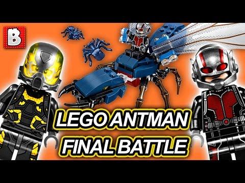 Lego Ant-Man Final Battle Marvel Superheroes Set 76039 | Unboxing Building Time Lapse Review