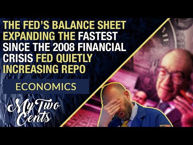 Fed Repo Market Bailout Is Now Expanding Faster Than 2008 Crisis As Fed Quietly Increases Repo