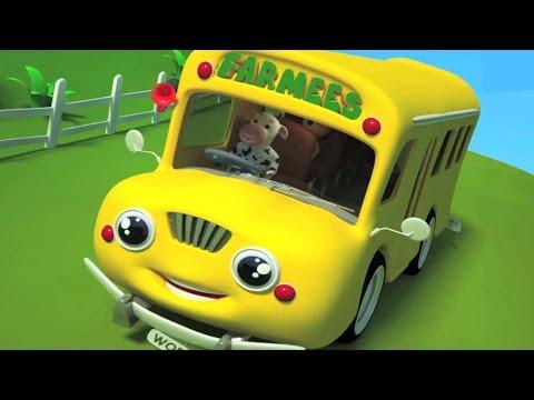 Смотреть про желтый автобус мультфильм