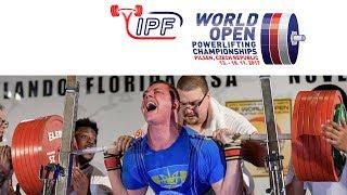 Men, 105 kg - World Open Powerlifting Championships 2017