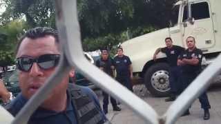 BRUTALIDAD POLICIACA EN CUERNAVACA MORELOS