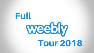 Weebly Tour 2018