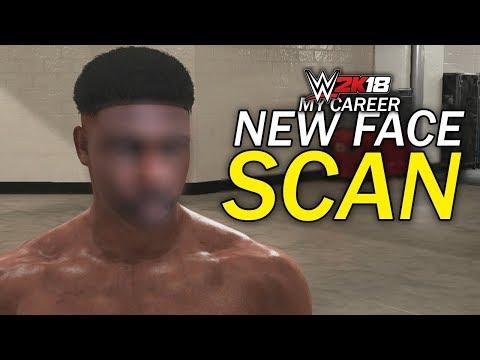 WWE 2K18 My Career Mode - Ep 8 - MY NEW FACE SCAN!! [WWE 2K18 MyCareer Part 8]