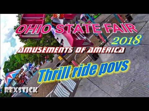Ohio State Fair rides