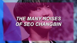 the many noises of seo changbin