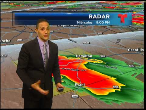 May 15, 2013 Tornado Coverage KXTX Telemundo 39