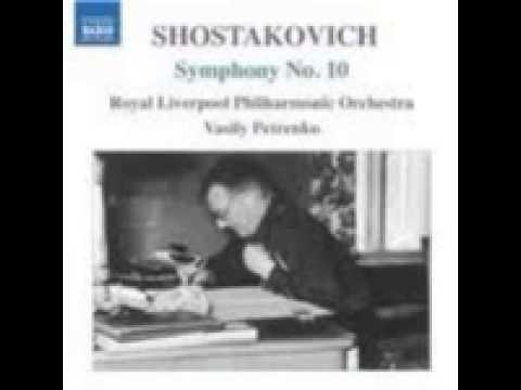 Shostakovich Symphony No. 10 in E minor op.93 - 4. Andante - Allegro