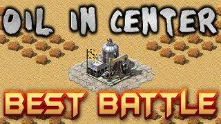 BEST BATTLE Oil in Center Map Red Alert 2 Yuri's Revenge CNCNET Online Multiplayer