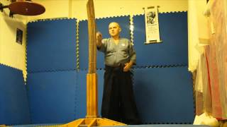 Great knife test cutting by sensei Piotrkowicz   Samurai Juku