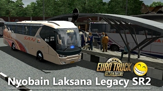 Nyobain Mod Laksana Legacy SR2 - ETS 2 Bus Mod Indonesia