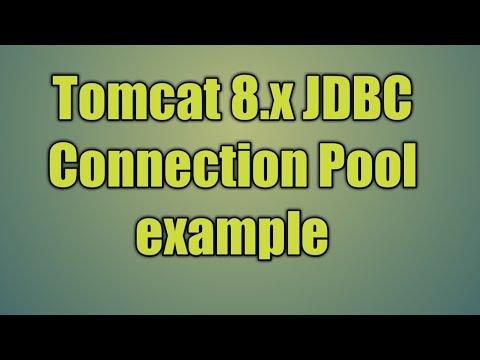 47.Tomcat 8.x JDBC Connection Pool Example