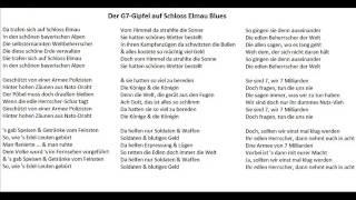 Der G7-Gipfel auf Schloss Elmau Blues - Christoph Holzhöfer