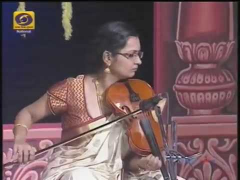 Lalitha Raghavan Violin DD National Programme 24 6 17 8-00 am