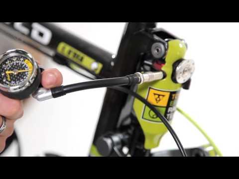 Luftpumpe mit Echtcarbon Druckanzeige TOPEAK Pocketshock DXG