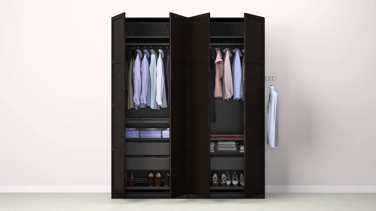Ikea Aspelund Garderobekast Handleiding ~ Check out how to get beautifully organized in this wardrobe doors and