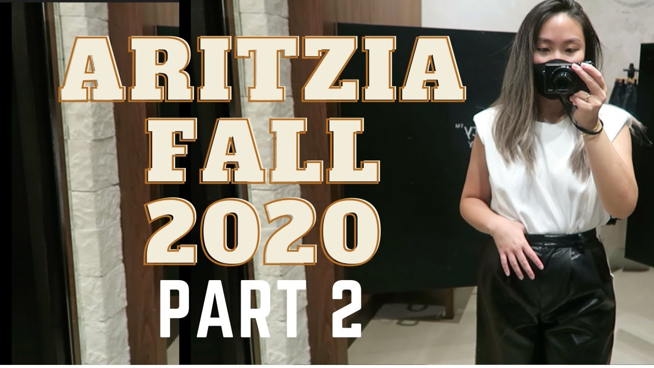 Aritzia Fall 2020 Collection| Try ON Part 2!