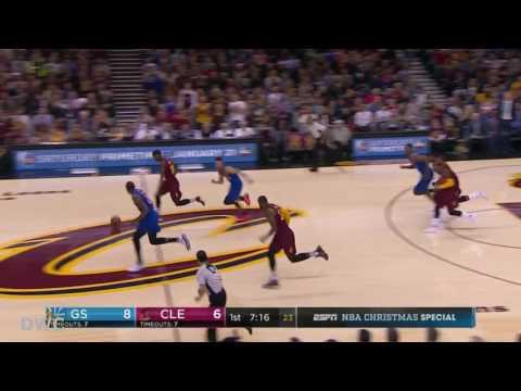 Deandre Liggins Defense On Stephen Curry  December25, 2016