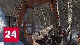 Постройки дачников в одной из деревень Новой Москвы вдруг оказались вне закона - Россия 24