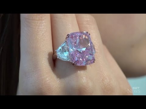 Flawless purple-pink diamond may fetch US$35M at auction