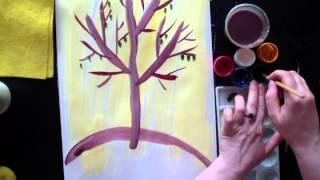 Урок рисования для детей от 4 до 7 лет