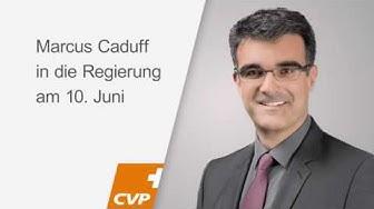 Marcus Caduff  und seine politische Karriere