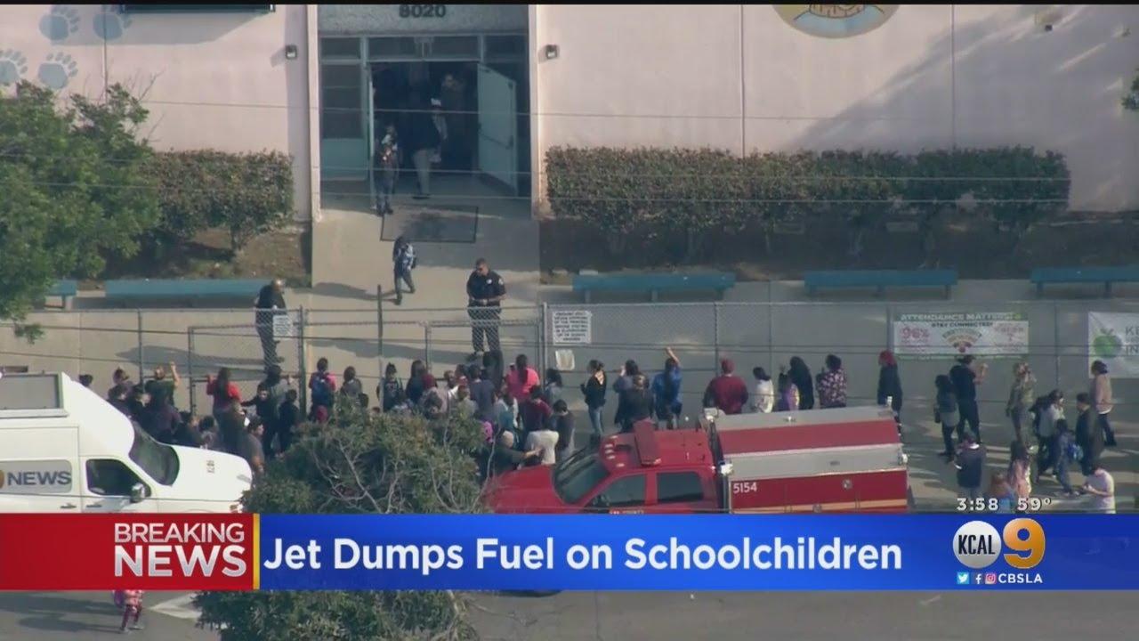 Delta Flight Dumps Jet Fuel Over LA Schools; Dozens Of Students, Adults Treated For Exposure