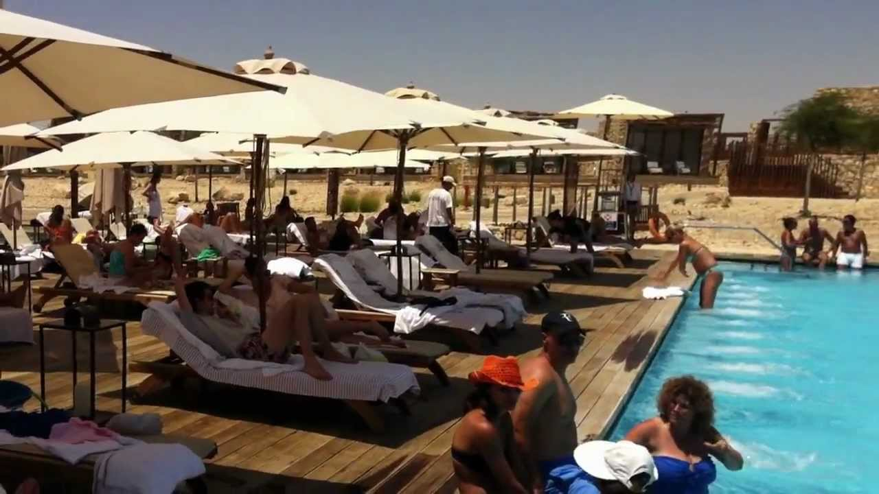 Beresheet Hotel Mitzpe Ramon Pool Area