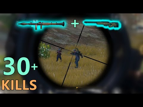 BEST COMBO RPG-7 + AWM IN PAYLOAD MODE | PUBG MOBILE