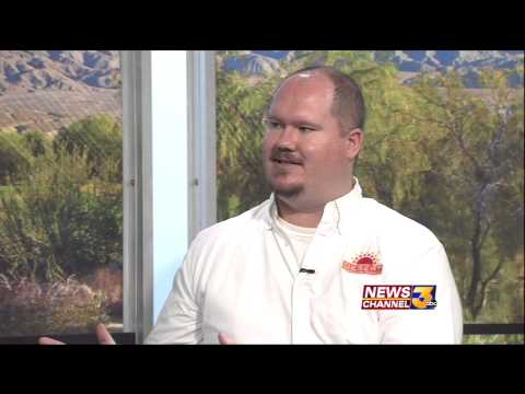 Rob Carson Interview   Senior Olympics Day 1  Desert Recreation District