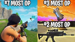 RANKING THE 10 MOST OP WEAPONS YOU DON'T REMEMBER GETTING NERFED IN FORTNITE!