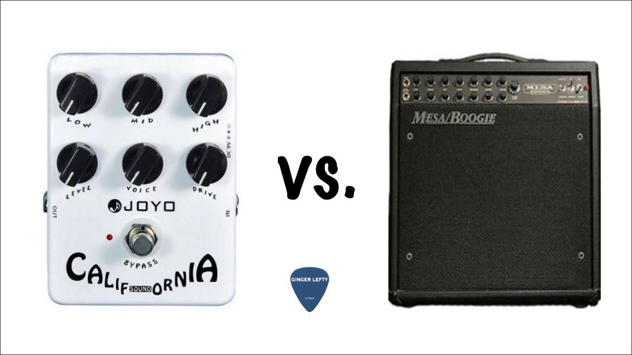 Joyo (Harley Benton) California Sound pedal vs Mesa Boogie DC-2