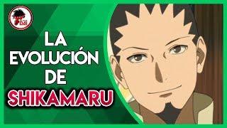 Naruto: Historia y Evolución de SHIKAMARU NARA