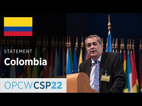 Colombia Statement by Mr Juan José Quintana at CSP-22