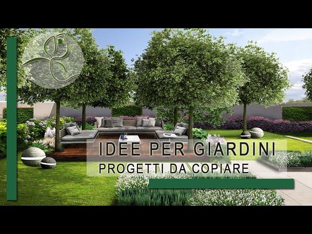 Favoloso Idee per giardini - Progetti da copiare - YouTube YJ79