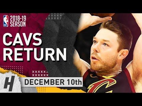 Matthew Dellavedova CAVALIERS RETURN Full Highlights vs Bucks 2018.12.10 - 11 Pts, 4 Ast, 2 Reb!